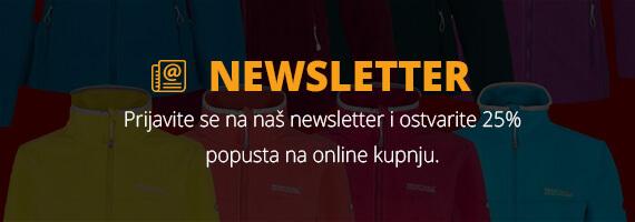 Regatta Webshop - Newsletter